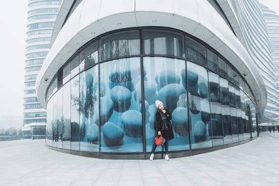 北京都市生活,色彩斑斓的霓虹灯!